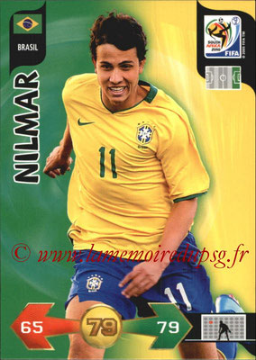 2010 - Panini FIFA World Cup South Africa Adrenalyn XL - N° 047 - NILMAR (Bresil)