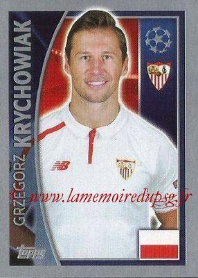 2015-16 - Topps UEFA Champions League Stickers - N° 270 - Grzegorz KRYCHOWIAK (FC Seville)