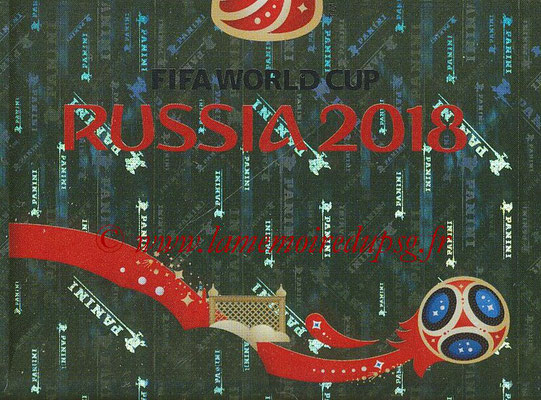 2018 - Panini FIFA World Cup Russia Stickers - N° 006 - Logo WC 2018