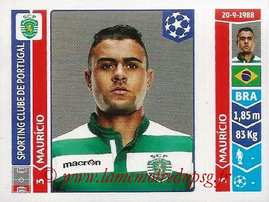 2014-15 - Panini Champions League N° 527 - MAURICIO (Sporting Club de Portugal)