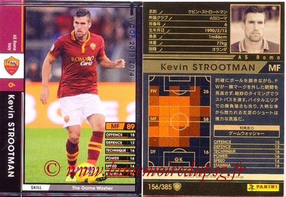 2013-14 - WCCF - N° 156 - Kevin STROOTMAN (AS Roma)