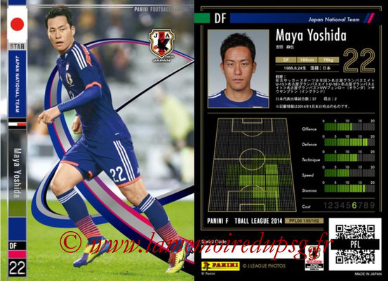Panini Football League 2014 - PFL06 - N° 135 - Maya YOSHIDA (Japon) (Star)