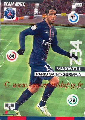 2015-16 - Football Cards N° 158 - MAXWELL
