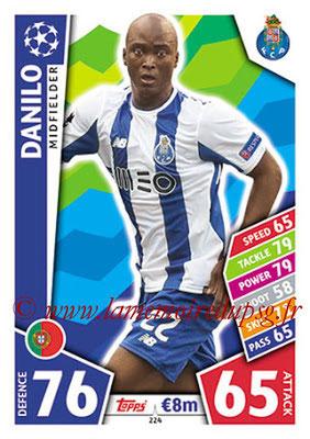 2017-18 - Topps UEFA Champions League Match Attax - N° 224 - DANILO (FC Porto)