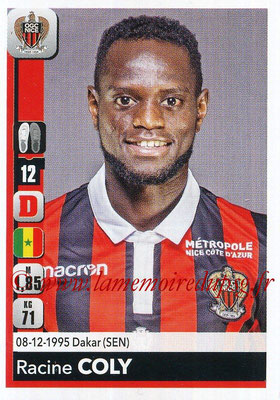 2018-19 - Panini Ligue 1 Stickers - N° 305 - Racine COLY (Nice)
