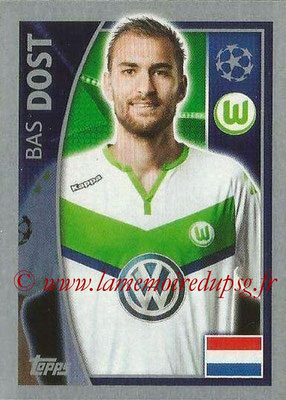 2015-16 - Topps UEFA Champions League Stickers - N° 146 - Bas DOST (VFL Wolfsburg)