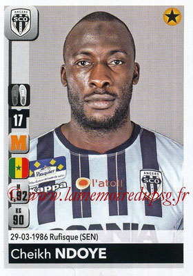 2018-19 - Panini Ligue 1 Stickers - N° 038 - Cheikh NDOYE (Angers)