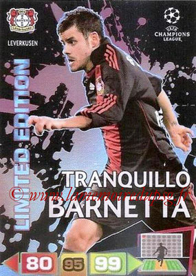 2011-12 - Panini Champions League Cards - N° LE10 - Tranquillo BARNETTA (Bayer 04 Leverkusen) (Limited Edition)