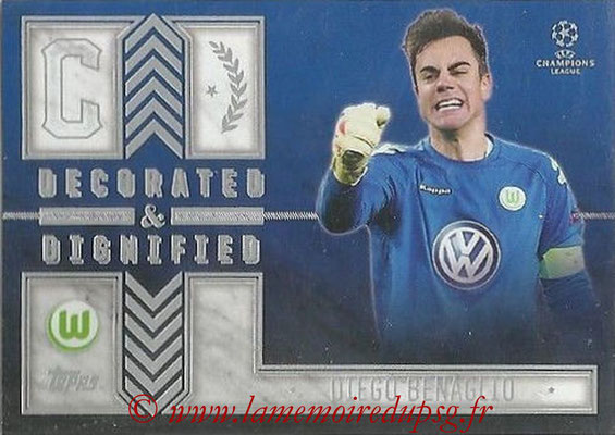 2015-16 - Topps UEFA Champions League Showcase Soccer - N° DD-DB - Diego BENAGLIO (VFL Wolfsburg) (Decorated and Dignified)