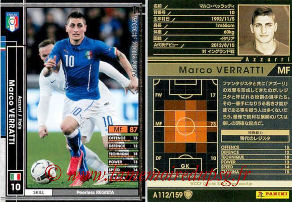 N° A112 - Marco VERRATTI (Italie)