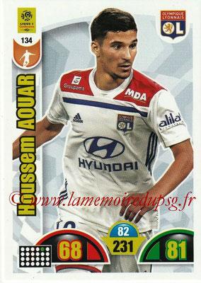 2018-19 - Panini Adrenalyn XL Ligue 1 - N° 134 - Houssem AOUAR (Lyon)