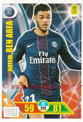 2017-18 - Panini Adrenalyn XL Ligue 1 - N° 267 - Hatem BEN ARFA (Paris Saint-Germain)