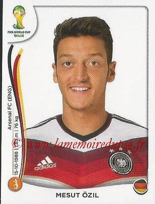 2014 - Panini FIFA World Cup Brazil Stickers - N° 499 - Mesut OZIL (Allemagne)