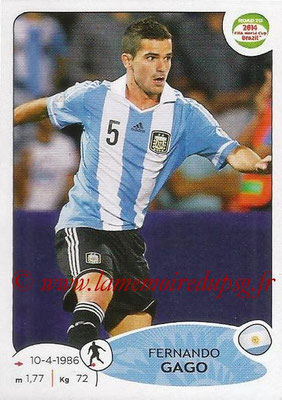 2014 - Panini Road to FIFA World Cup Brazil Stickers - N° 063 - Fernando GAGO (Argentine)