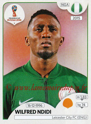 2018 - Panini FIFA World Cup Russia Stickers - N° 344 - Wilfred NDIDI (Nigeria)