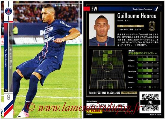 Panini Football League 2013 - PFL02 - N° 070 - Guillaume Hoarau ( Paris Saint-Germain )