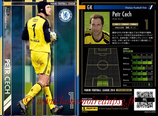 Panini Football League 2014 - PFL06 - N° 160 - Petr CECH (Chelsea FC) (Super GK)