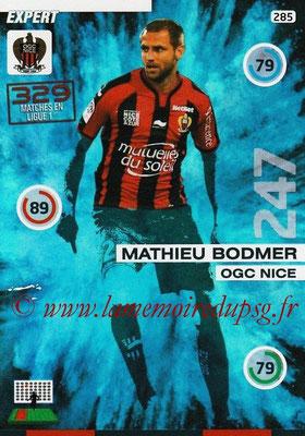 N° 285 - Mathieu BODMER (2010-13, PSG > 2015-16, Nice) (Expert)