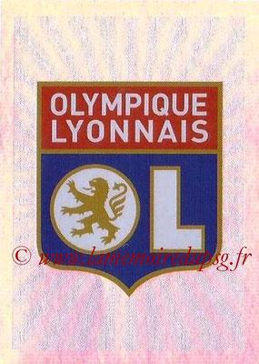 2015-16 - Topps UEFA Champions League Stickers - N° 520 - Logo Olympique Lyonnais