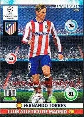 2014-15 - Adrenalyn XL champions League Update edition N° UE024 - Fernando TORRES (Atletico Madrid)