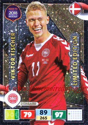 2018 - Panini Road to FIFA World Cup Russia Adrenalyn XL - N° LE-VF - Viktor FISHER (Danemark) (Limited Edition)