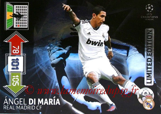 N° LE-AD - Angel DI MARIA (2012-13, Real Madrid, ESP > 2015-??, PSG) (Limited Edition)