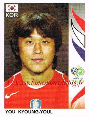 2006 - Panini FIFA World Cup Germany Stickers - N° 499 - You KYOUNG-YOUL (Corée du Sud)