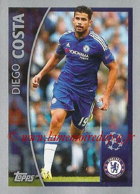 2015-16 - Topps UEFA Champions League Stickers - N° 583 - Diego COSTA (Chelsea FC) (Player to Watch)