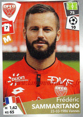2017-18 - Panini Ligue 1 Stickers - N° 119 - Frédéric SAMMARITANO (Dijon)