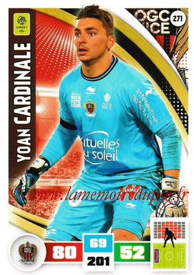 2016-17 - Panini Adrenalyn XL Ligue 1 - N° 271 - Yoan CARDINALE (Nice)