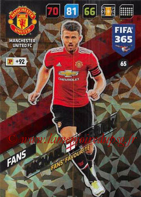 2017-18 - Panini FIFA 365 Cards - N° 065 - Michael CARRICK (Manchester United) (Fans'Favourite)