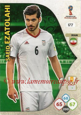 2018 - Panini FIFA World Cup Russia Adrenalyn XL - N° 177 - Saeid EZATOLAHI (Iran)