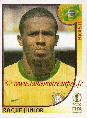 2002 - Panini FIFA World Cup Stickers - N° 174 - Roque JUNIOR (Brésil)