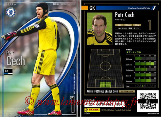 Panini Football League 2014 - PFL07 - N° 061 - Petr CECH (Chelsea FC) (Star +)