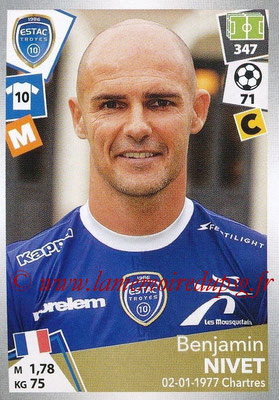 2017-18 - Panini Ligue 1 Stickers - N° 509 - Benjamin NIVET (Troyes)