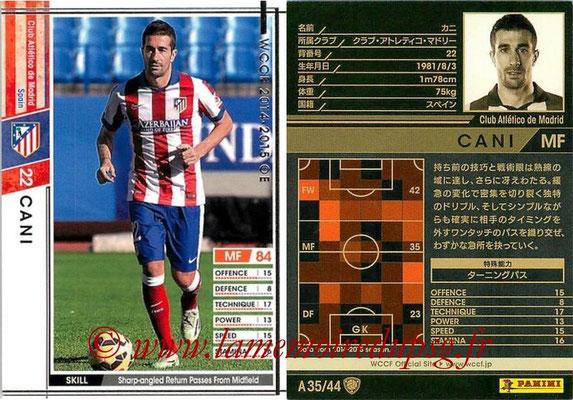 2013-14 - WCCF - N° A35 - CANI (Atletico Madrid)