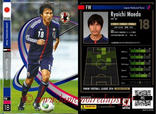Panini Football League 2014 - PFL06 - N° 157 - Ryoichi MAEDA (Japon) (Star)