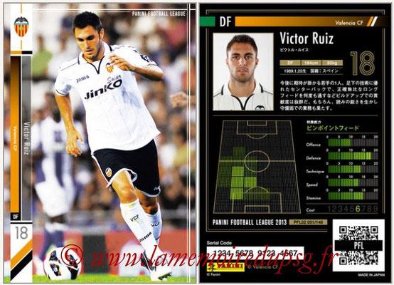 Panini Football League 2013 - PFL02 - N° 051 - Victor Ruiz ( Valencia CF )