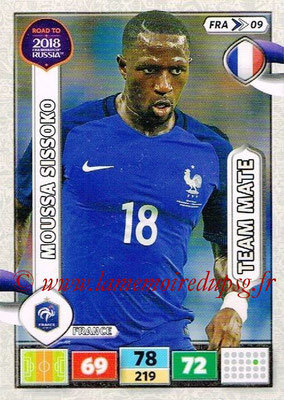 2018 - Panini Road to FIFA World Cup Russia Adrenalyn XL - N° FRA09 - Moussa SISSOKO (France)