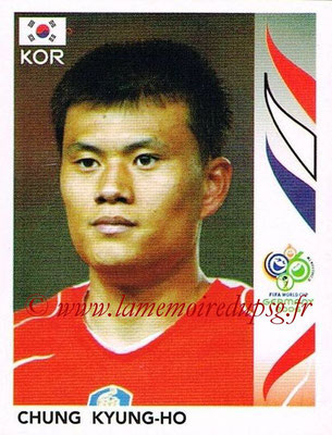 2006 - Panini FIFA World Cup Germany Stickers - N° 510 - Chung KYUNG-HO (Corée du Sud)