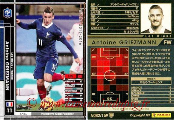 2015-16 - Panini WCCF - N° A082 - Antoine GRIEZMANN (France)