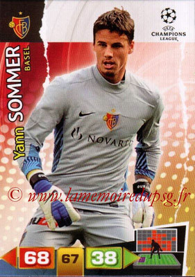 2011-12 - Panini Champions League Cards - N° 038 - Yann SOMMER (FC Bâle)