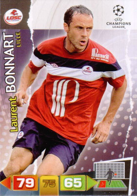 2011-12 - Panini Champions League Cards - N° 125 - Laurent BONNARD (Lille)