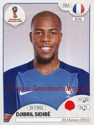 2018 - Panini FIFA World Cup Russia Stickers - N° 197 - Djibril SIDIBE (France)