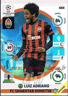 2014-15 - Adrenalyn XL champions League Update edition N° UE116 - Luiz ADRIANO (Shakhtar Donetsk) (Game Changers)
