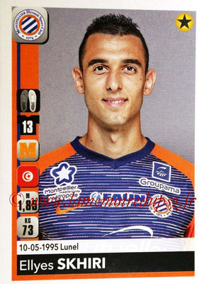2018-19 - Panini Ligue 1 Stickers - N° 266 - Ellyes SKHIRI (Montpellier)
