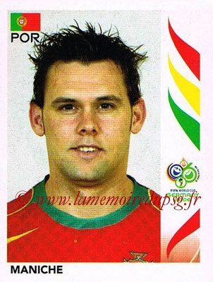 2006 - Panini FIFA World Cup Germany Stickers - N° 294 - MANICHE (Portugal)