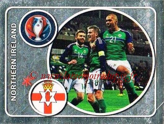 Panini Euro 2016 Stickers - N° 239 - Équipe d'Irlande du Nord