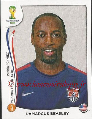 2014 - Panini FIFA World Cup Brazil Stickers - N° 553 - Damarcus BEASLEY (Etats-Unis)