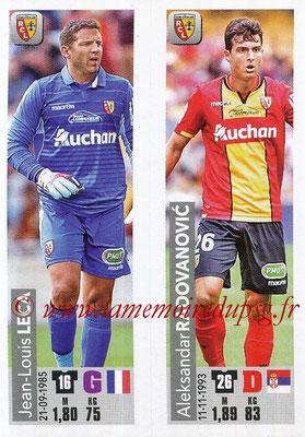 2018-19 - Panini Ligue 1 Stickers - N° 536 - Jean-Louis LECA + Aleksandra RADOVANOVIC (RC Lens)